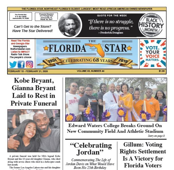 February 15, 2020 issue of The Florida/ Georgia Star Newspaper   Subscribe to The Florida/ Georgia Star Newspaper today... Visit us at: http://thefloridastar.com  #thefloridastar #thegeorgiastar #news #blackmedia #blackhistorymonthpic.twitter.com/JvBFleqt0z
