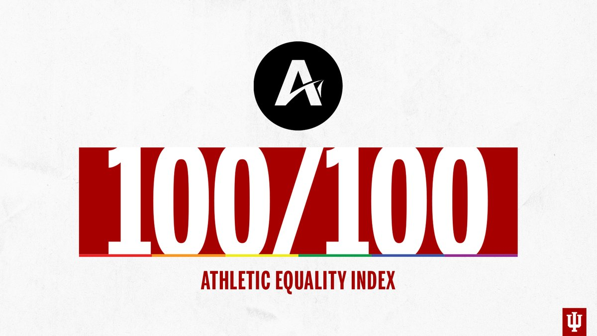 Taking pride in our perfect score. @AthleteAlly: bit.ly/3bY776q