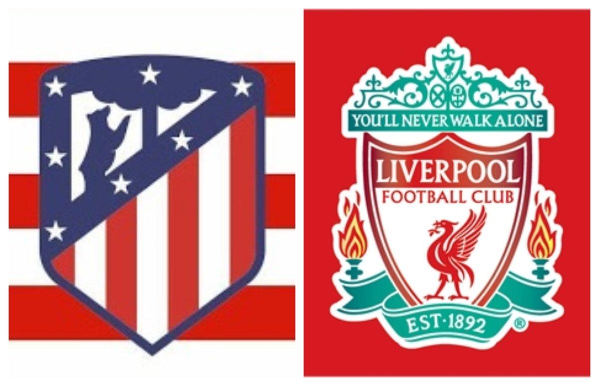 #AtleticoLiverpool