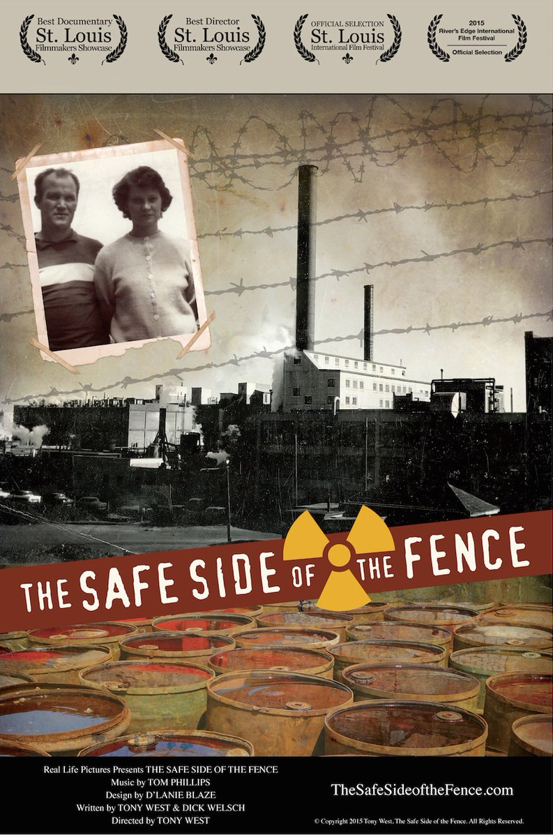 """THE SAFE SIDE OF THE FENCE by filmmaker Tony West """"a devastating, disturbing, and deeply poignant documentary…"""" Stefene Russell, St. Louis Magazine. Best Documentary & Director: St. Louis Filmmakers Showcase CLICK HERE=> http://ow.ly/F9Rb30qhYAt #filmdirector #filmlighting #vfxpic.twitter.com/56okvJyWMm"""