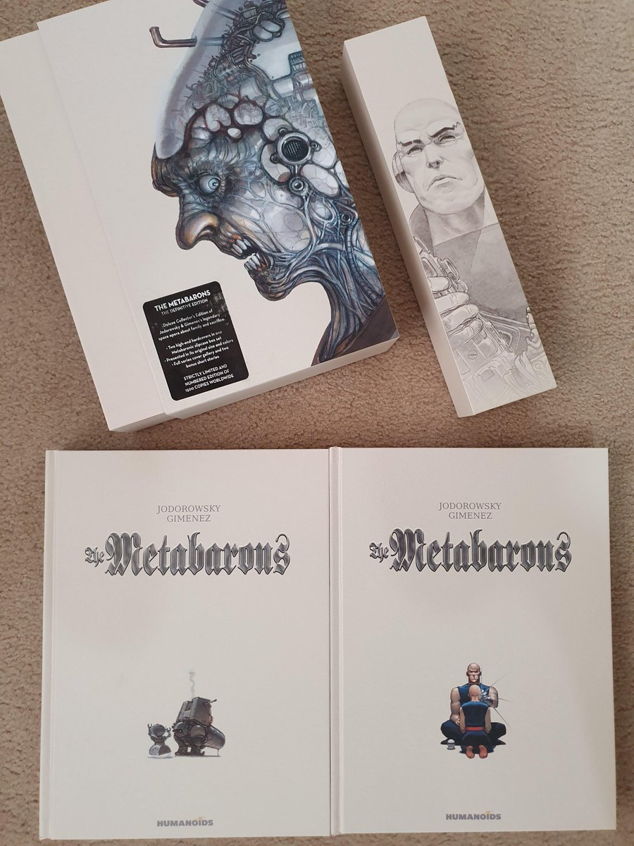 Currently reading: Metabarons by Jodorowsky / Gimenez #comicbooks pic.twitter.com/3PNYMaxv94