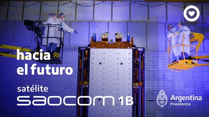 Leer más: Alberto Fernández viaja a Bariloche para despedir al nuevo satélite de Invap