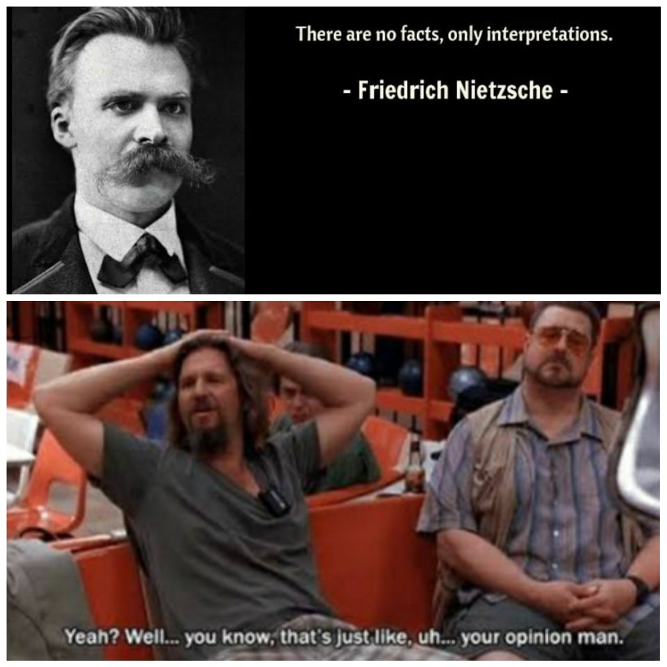Both affirm perspectivism though. . . . . . . #philosophers #philosophy #philosophystudent #philosophical #philosophyproblems #philosophymemes #philosophythoughts #philosophicalthoughts #philosopher #philosophyquotes #nietzsche #deepthoughts #edgy #thoughts #abyss #existencepic.twitter.com/mLkAarFdT8