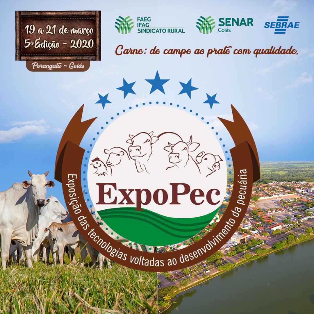 De 19 a 21 de março, Porangatu receberá a 5ª #Expopec, com o foco em tecnologias voltadas para o desenvolvimento da pecuária goiana e brasileira.  . .  Quer garantir sua vaga? Inscreva-se: http://sistemafaeg.com.br . . #SistemaFaeg #SenarGoias #Expopec2020 #PecuariaDeCorte pic.twitter.com/Deqyr8hQGk