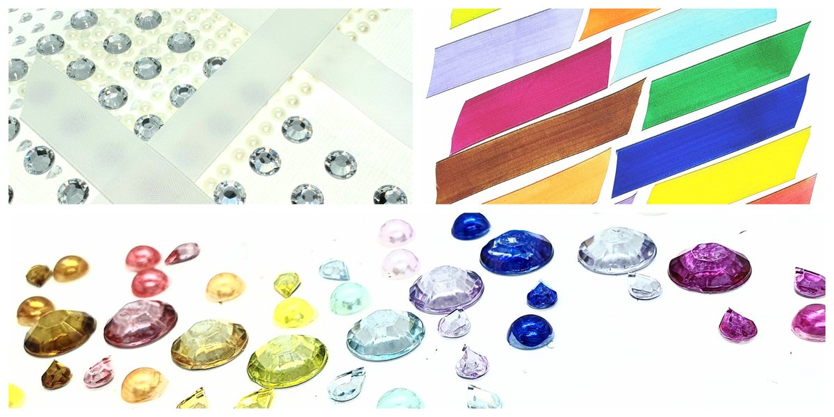 Any new #scrapbookers out there? #craft #crafthacks #scrapbookhacks #craftytips  You need a little extra #bling but don't have the #PerfectColour? Take your white ribbon, clear #adhesivegems #flatbackpearls a selection of @winsorandnewton #promarkers and #gototown!pic.twitter.com/hrwlCZ60rL