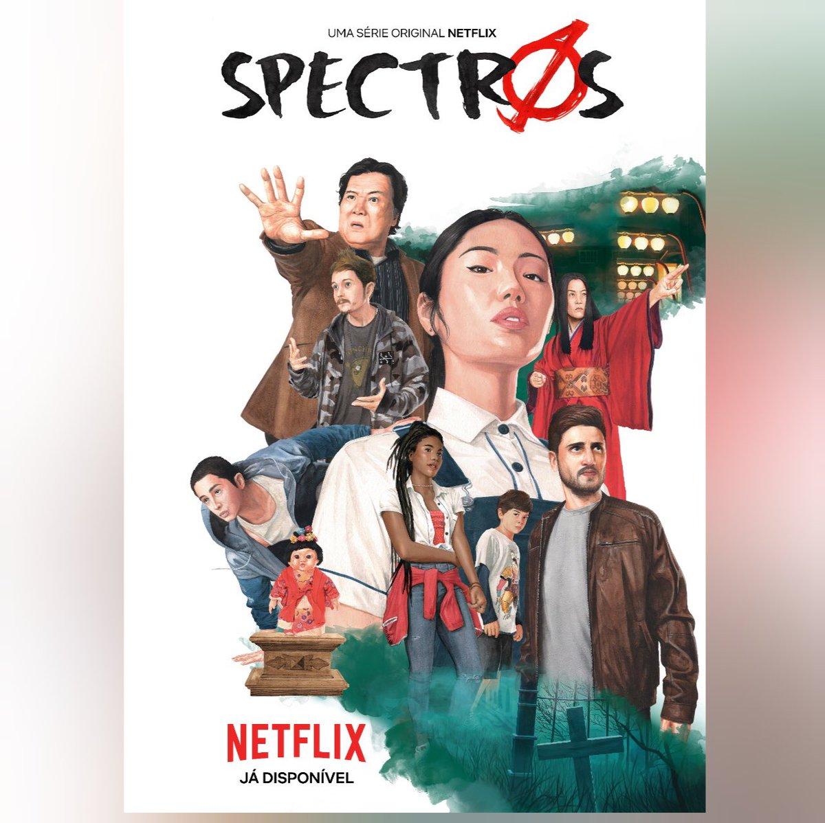 """#Serie A Netflix divulgou o novo pôster e trailer da nova série de terror brasileira """"Spectros"""".  A série estreia em 20 de Fevereiro na Netflix! #Spectros"""