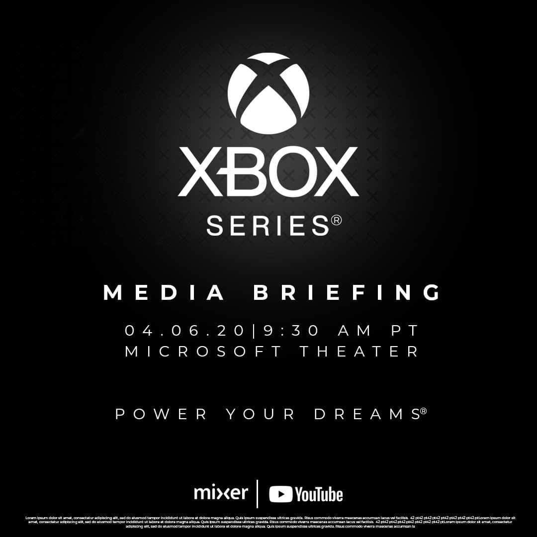 Resultado de imagen de xbox series x reveal april