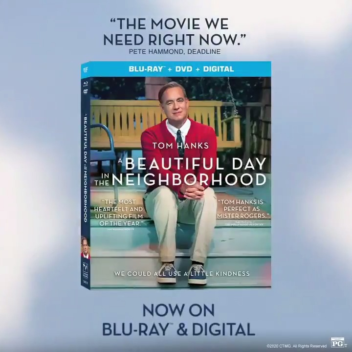 All the feel-good hope of #ABeautifulDayMovie comes home on Blu-ray & DVD now! bit.ly/36dL9rL