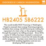 Image for the Tweet beginning: Carbon Washington has endorsed: HB2405/SB6222