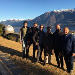 Image for the Tweet beginning: GReD and @GEOlab_polimi visiting @MeteoSvizzera