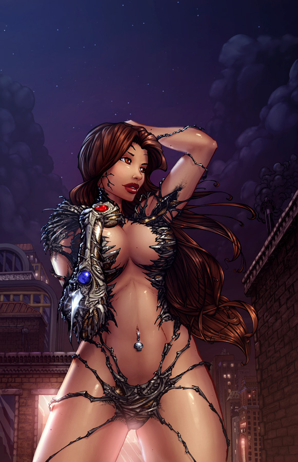 The Witchblade makes chicks wear some skimpy attire...:) #TopCow #Witchblade #SHPOLL20 pic.twitter.com/RYfsy9uVY4