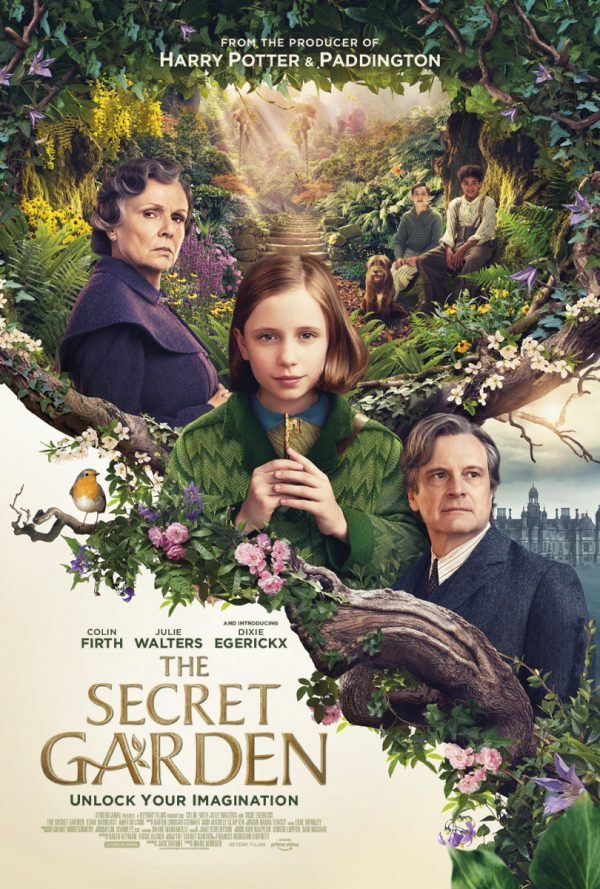 StudiocanalUK release a new poster and trailer for #TheSecretGarden  An orphaned girl discovers a magical garden hidden at her strict uncle's estate. #ColinFirth #JulieWalters #DixieEgerickx   Cinema release: 10th (UK/ROI), 17th April (U.S). http://bit.ly/2HCuS5Qpic.twitter.com/Kdt2TaMTqg