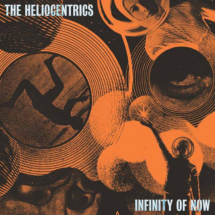 The Heliocentrics' 'Infinity Now' has a meditative, if hallucinogenic, flow that focuses the mind through every detour, a flight of fancy with a purposeful direction in fully realized detail. Our 9/10 review: