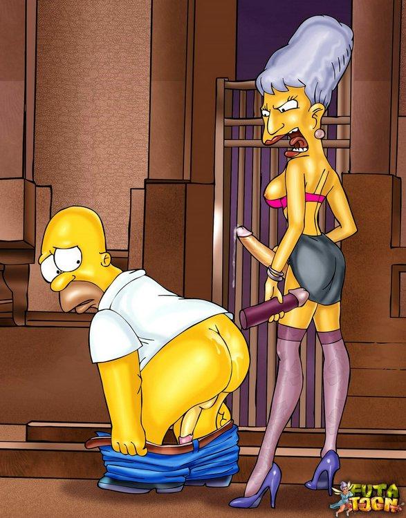Porn cartoons lisa simpson xxx