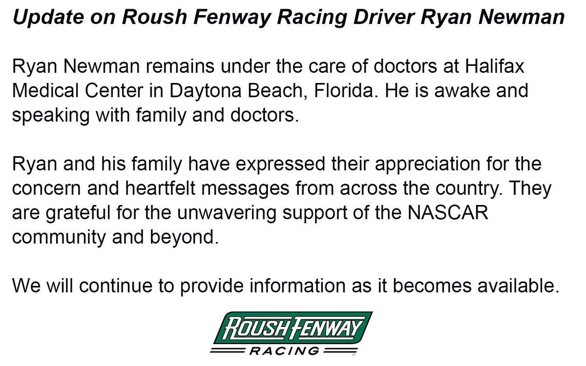 Dr. Ryan Stanton talks about the safety precautions NASCAR drivers take