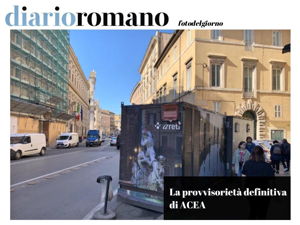 test Twitter Media - A Corso Vittorio nel 2016 #ACEA installò una cabina elettrica provvisoria con l'intento si rimuoverla dopo 6/8 settimane. Siamo nel 2020. . #photo #Roma #centrostorico #decoro https://t.co/v81dYQFCwK