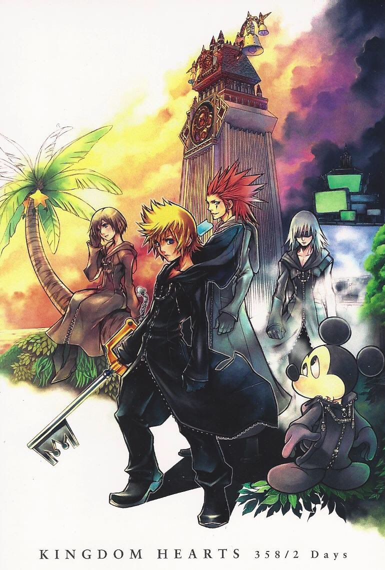 Pros of Square Enix remaking 358/2 Days and Re: Coded  358/2 Days -Chance to revamp the combat and rebalance enemies -Sea Salt Trio -Organization 13 -Multiplayer -Most tragic KH game other than BBS  Re:Coded -Best command deck in HD -Roxas boss fight pic.twitter.com/eR3efP9u2B