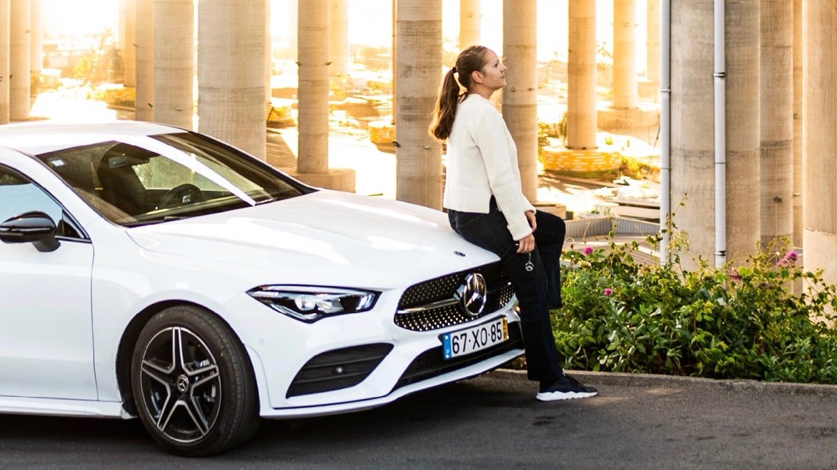 It's not important how big that first step is - what's important is in which direction it takes you.  http://mercedes-benz.com  📸 Alina Rudya from http://instagram.com/bellcollective for http://instagram.com/shesmercedes #ShesMercedes #MercedesBenz #BellCollective #Adventures #CLA #playbyyourrules