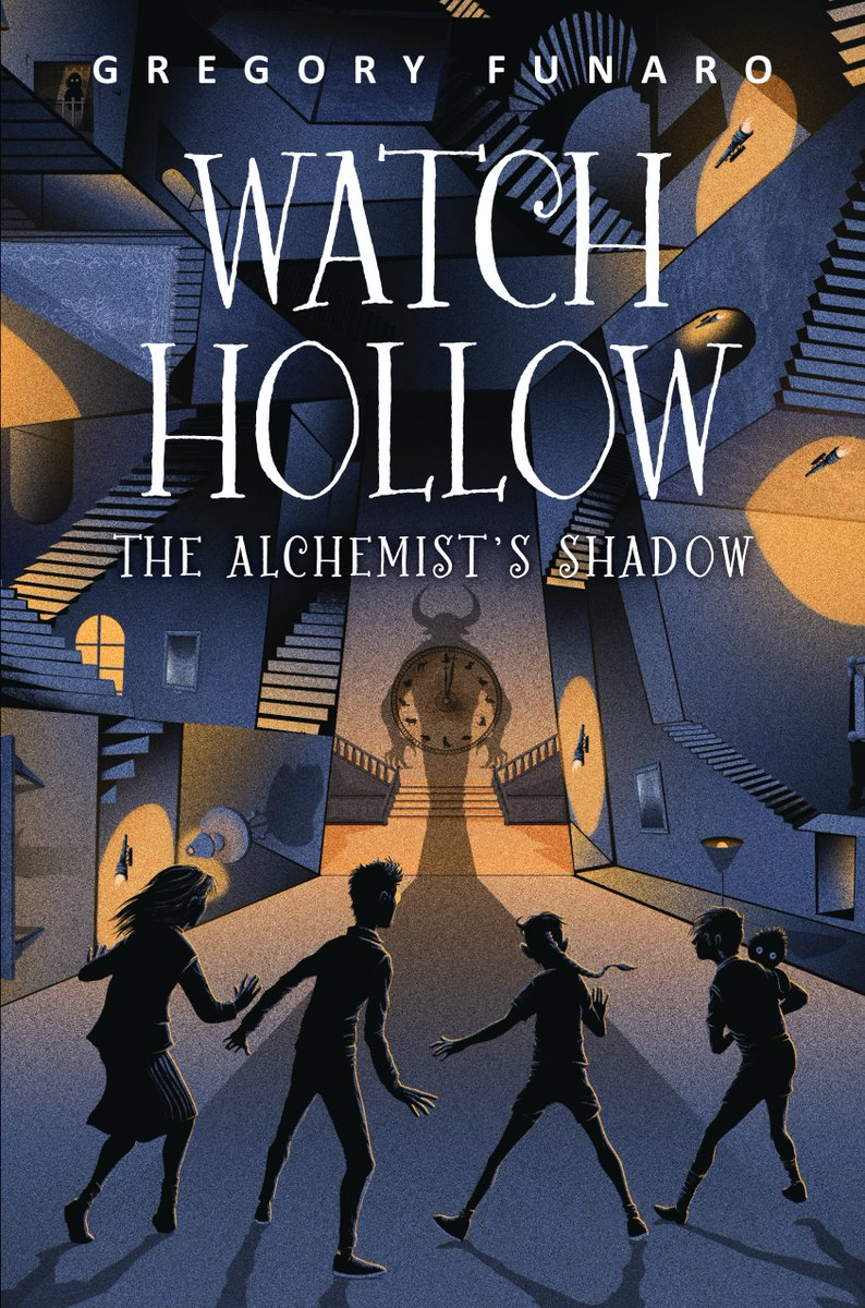 WATCH HOLLOW: THE ALCHEMISTS SHADOW is the second installment of the thrilling series by @GregoryFunaro, where magic exists, monsters roam, and wooden animals come to life! In this one, a new monster lurks around the corner... #bookbirthday fal.cn/watchhollow2