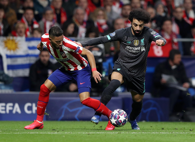 Атлетико Мадрид - Ливерпуль, гол Сауля