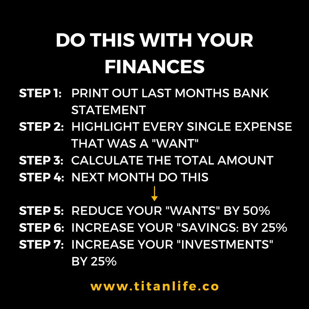 Personal #finance tip to reach #FinancialFreedompic.twitter.com/qlxNMw8otM