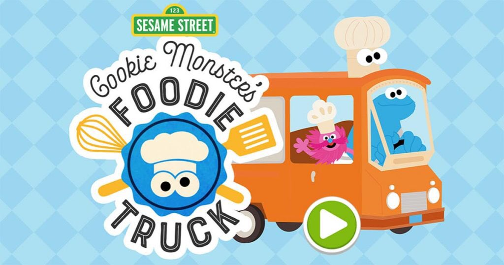 There's a brand new Cookie and Gonger game live NOW at http://SesameStreet.org ! I can't wait for you to play it! 🍪#CookieMonster #CookieMonstersFoodieTruck #Gonger #Sesame50 #SesameStreet #Muppets  #MonsterFoodies #HBO #PBS