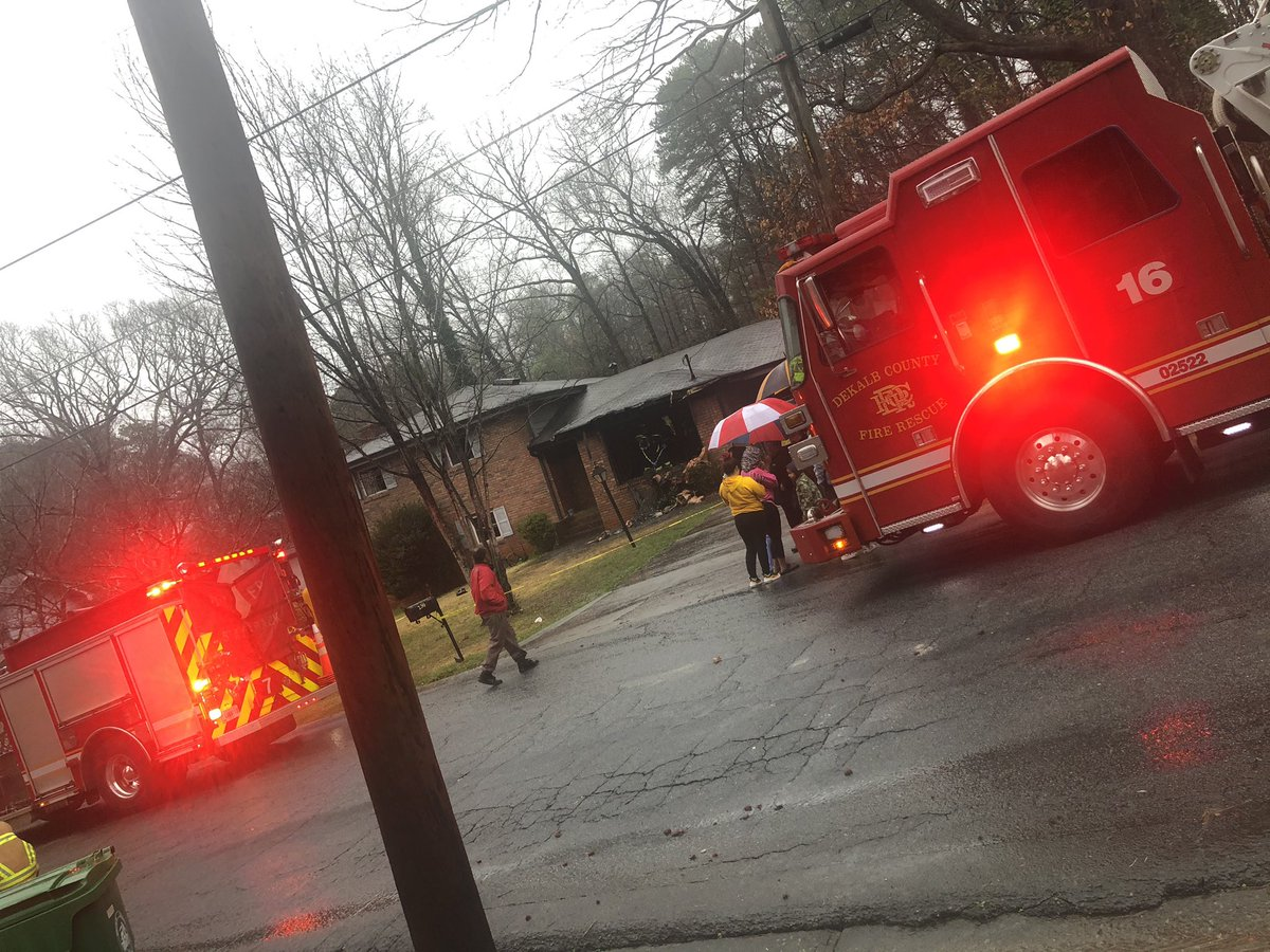 BREAKING: DeKalb Fire working a deadly fire on Troy Cove Rd. 62-year-old woman killed