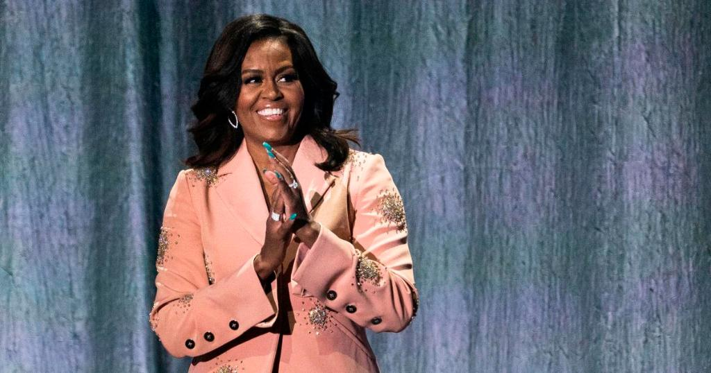 Michelle Obama shares her prom photo igniting PromChallenge to encourage student voters