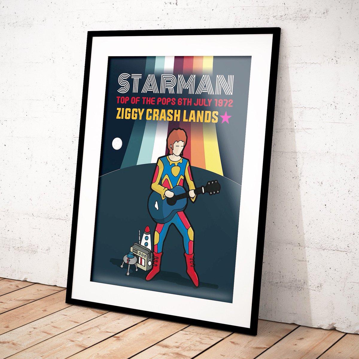 A sneak peek... A STARMAN MAY LAND TONIGHT.... #davidbowie #starman #ziggystardust #ziggystardustandthespidersfrommars #radio #space #spaceship #topofthepops #moon #rocket #jumpsuit #70sfashionpic.twitter.com/UkQQxaYXRQ