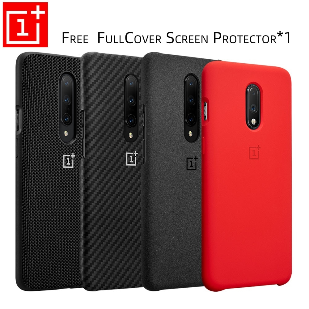 Oneplus 7 Pro Case Original 100% from Oneplus Official Protective Cover Nylon bumper Sandstone Case one plus 7 Oneplus 6T  #swag😎 #shoppingaddict #swager #swaggers #swagstyle