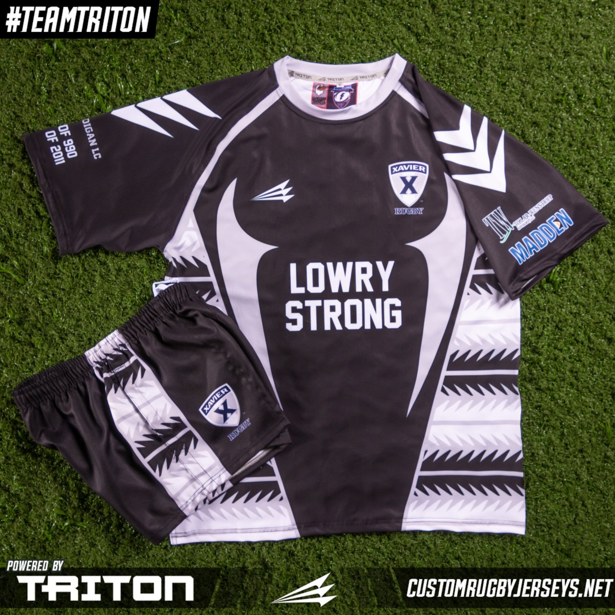 This jersey and shorts combo is just one way to build your custom uniforms from #Triton with comfort and style. Check out our packages or request a custom quote.    #teamtriton #custom #authentic #original #rugby #jerseys #rugbyjerseys #rugbyswag #swag