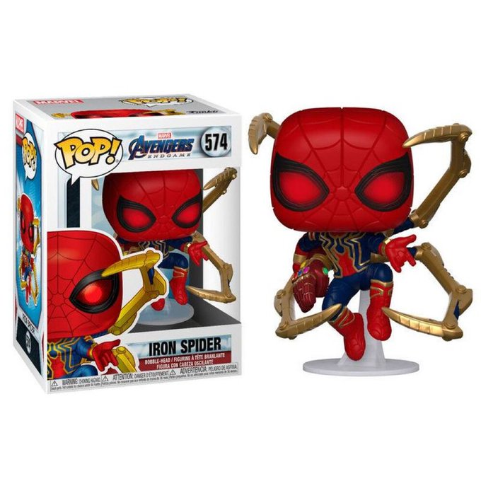 LAST DAY!   Hey #WebHeads! Enter for a chance to WIN a Funko POP! Marvel: Endgame - Iron Spider w/Nano Gauntlet   To Enter: Follow @GeekVibesNation and @GeekVibesNews - Retweet - Tag A Friend (If they Follow Us As Well You Both Could WIN) #Giveaway #SpiderMan #Contest pic.twitter.com/0QIBJi6wLe