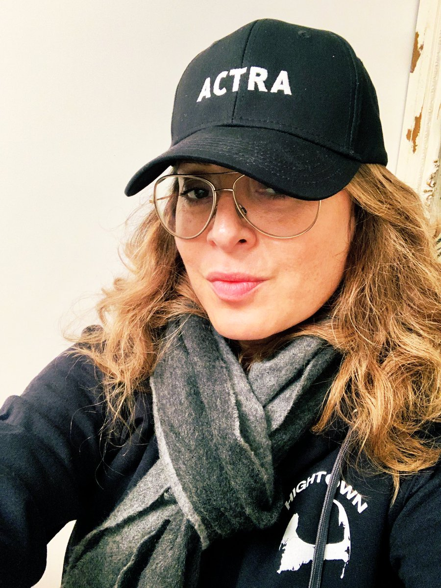 #Canadians really are the nicest people. 🇨🇦 #ACTRA @ACTRAnat 🙏 (representing a lil @HightownSTARZ @Hightown_starz here, too!) #swag X2!