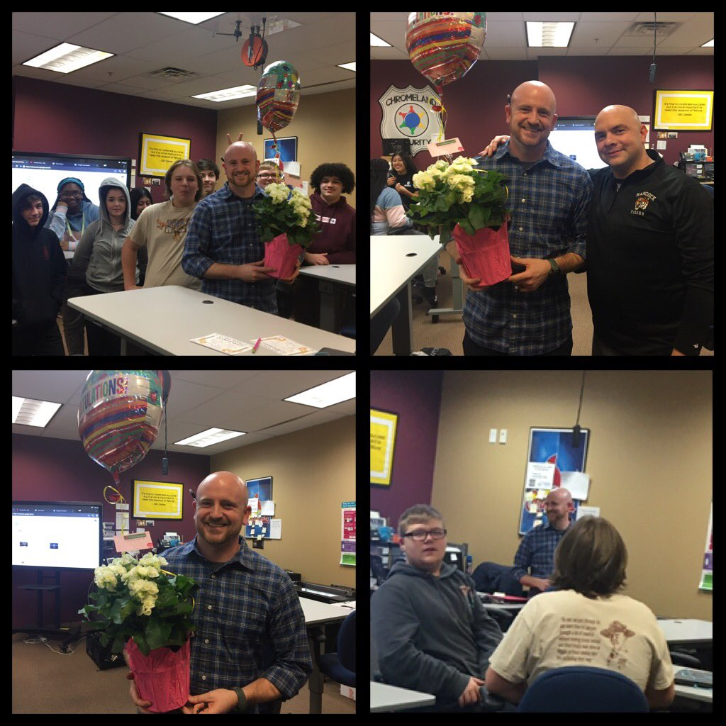 Congrats HPHS Teacher Of the Year Eric North!!! So proud of all that you do!!