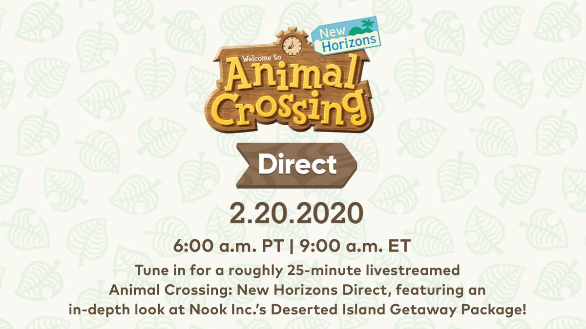Animal Crossing Nintendo Direct Announced For This Week - GameSpot
