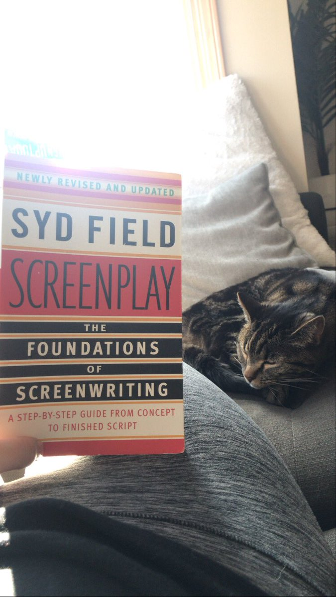 Post idea session.  Sunshine  Good book   Cat    #amwriting #screenwriters #womeninfilm pic.twitter.com/kMb1wCNg4H