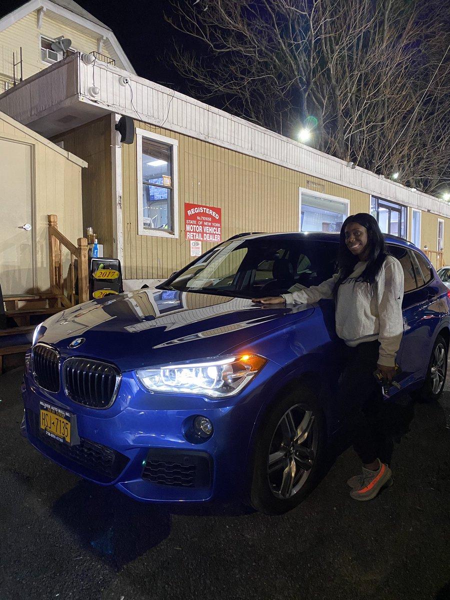 Congratulations to Daphney with her 2017 BMW X1 with the M Package!!!  #HSAutoMall #BMW #X1 #Blue #BMWM #MPackage #Cars #Dealership #Queens #Brooklyn #Santander #LongIsland #NewJersey #Bronx #Canarsie #Jamaica #Hollis #Elmhurst #KewGardens #RichmondHill #CarsForSale #BadCredit – at Hillside Auto Mall
