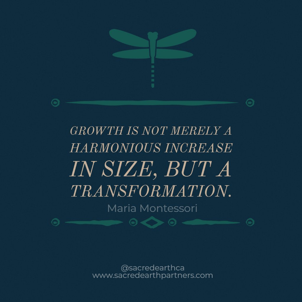 """""""Growth is not merely a harmonious increase in size, but a transformation."""" — Maria Montessori  #success #motivation  #inspiration  #goals #mindset #quotes #motivationalquotes  #leadership #instagood #successquotes #happy #successful #inspirationalquotespic.twitter.com/1sXH19723B"""