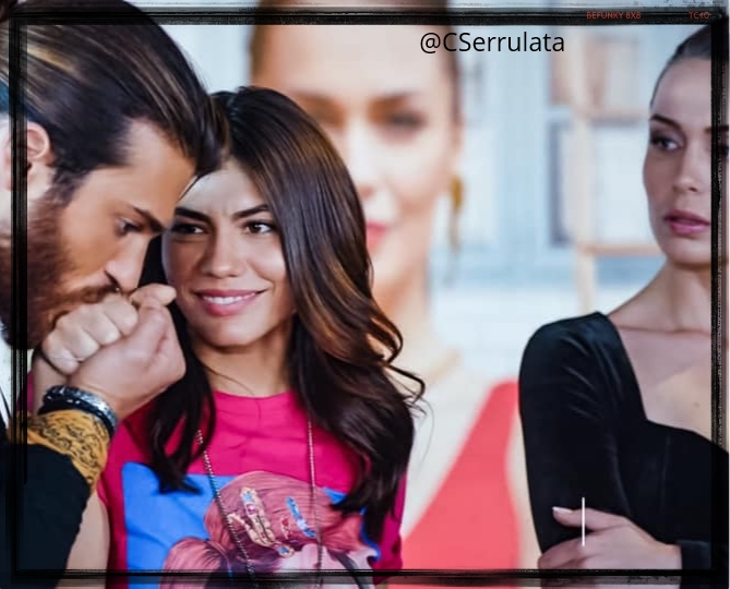 Cleomeserrulata A Twitter I The Way Can Shoot The Reporters Down When He Told Them That Sanem Is His Girlfriend And The Look On Polen S Face Was So Good Askdedigin Hesaidiloveyou Erkencikus Canyaman
