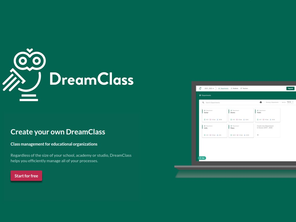 DreamClass is a cloud-based School Management System that eases the load of your administrative tasks and speeds up your daily routines. Keep up with your student admissions, monitor academic progress, track student attendance, manage your payments and i… https://ift.tt/2SIdgMt pic.twitter.com/Ly0de4ClMm