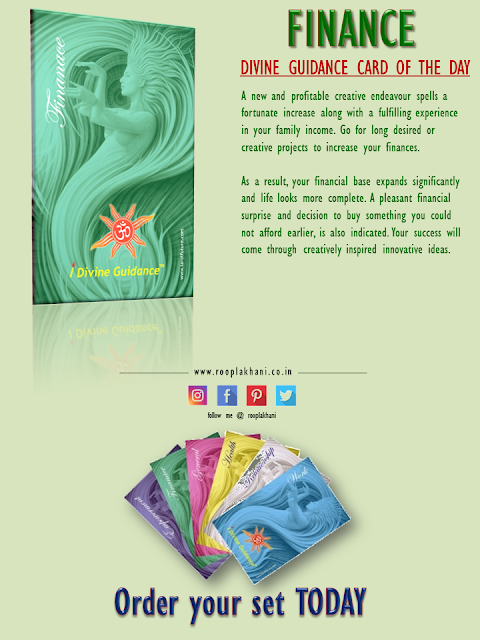 Divine Guidance Card of the Day - #FINANCE pic.twitter.com/NIUJSkycE4