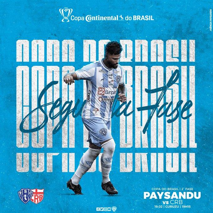 Copa do Brasil: Papão pronto para decisão de vaga com o CRB