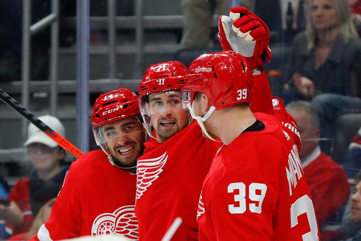FINAL: Red Wings 4, Canadiens 3; Detroit sweep Montreal 4-0 in season series