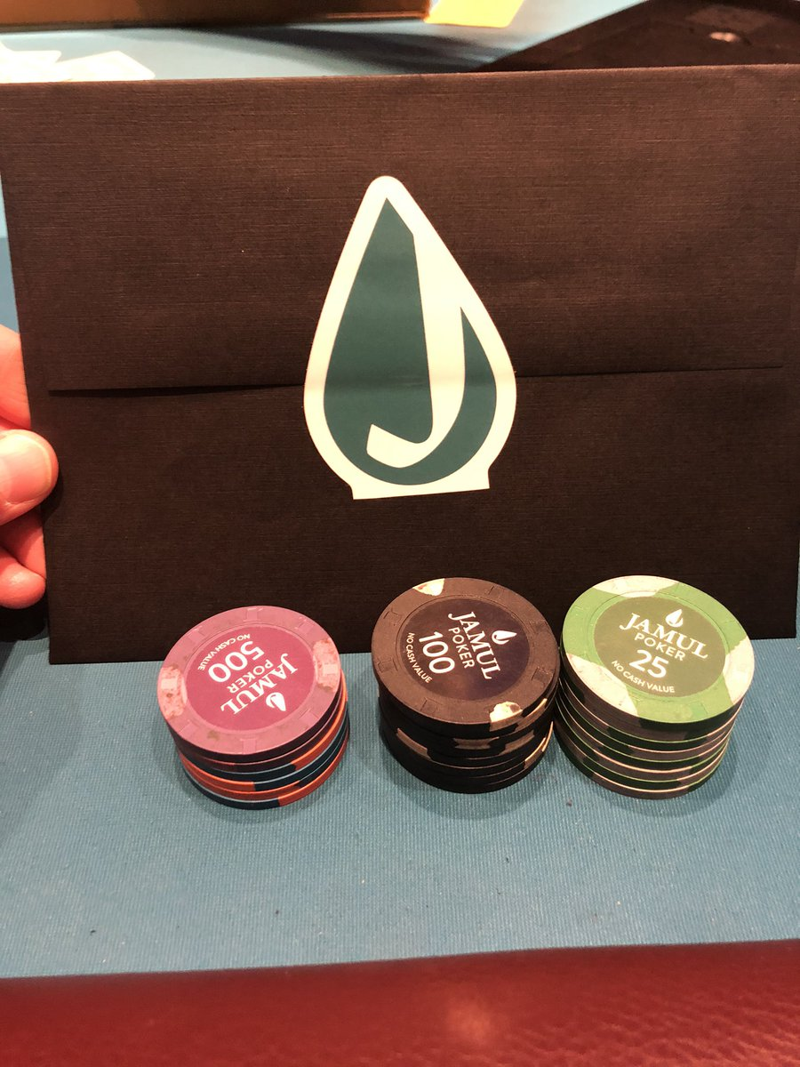 We are underway with the @RGPokerSeries at @JamulPoker. Wonder who will win this beautiful bounty