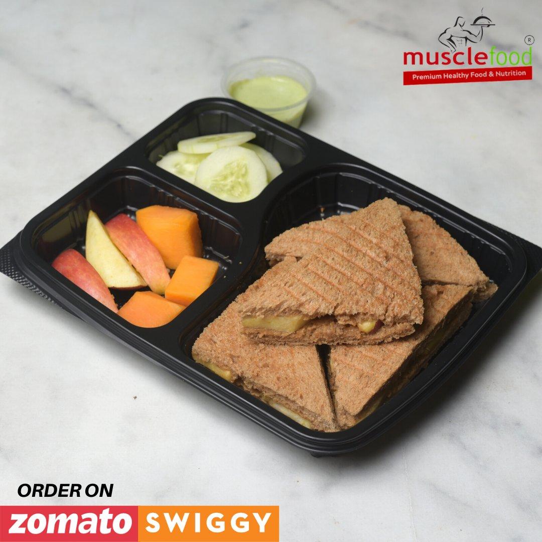 Peanut Butter fruit Sandwich . . Order Now  Zomatohttp://bit.ly/2ORFLFK  Swiggyhttp://bit.ly/31XJyG7  #musclefood #muscle #healthyfood #sandwich #fitness #fitfam #food #diet #motivation #gym #fitnesslover #love #like #girl #model #protein #onelife #tasty #twitterpic.twitter.com/ygpUcI9ZZq