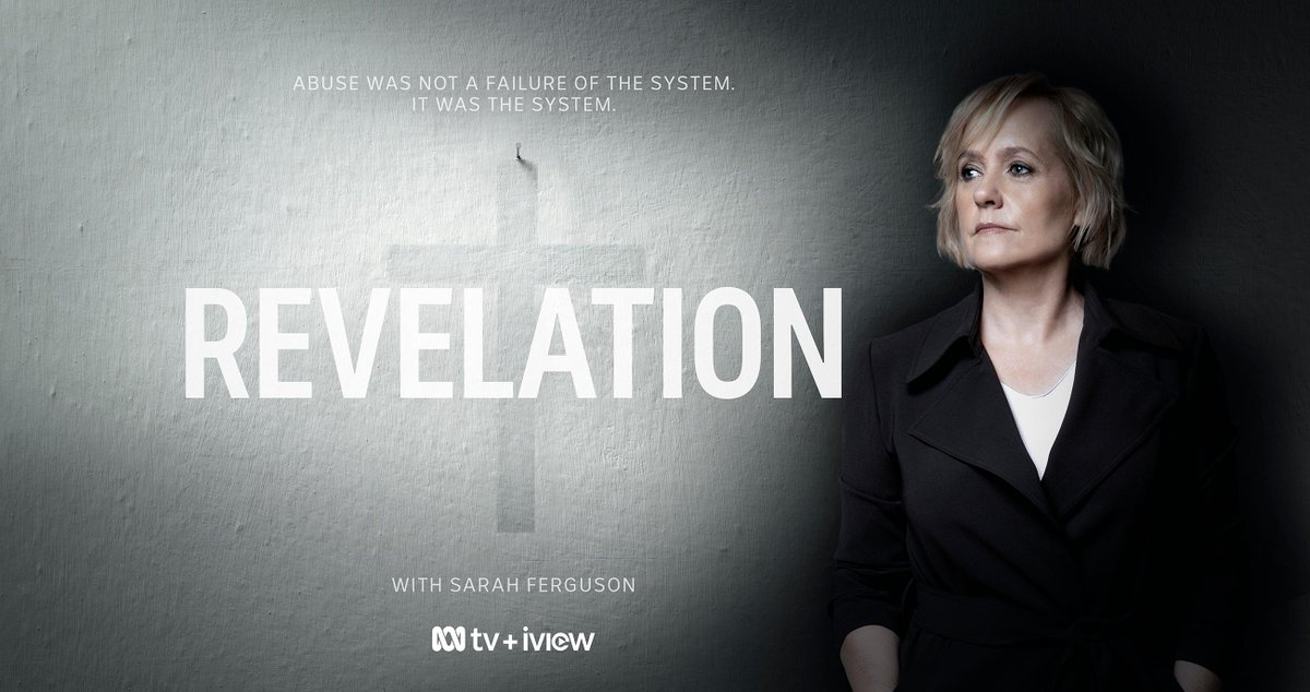 Abuse was not a failure of the system. It was the system. @FergusonNews presents #RevelationABC – a ground-breaking documentary series on the criminal priests and brothers of the Catholic Church. Starts Tuesday 17 March. Read more: about.abc.net.au/media-room/sar…