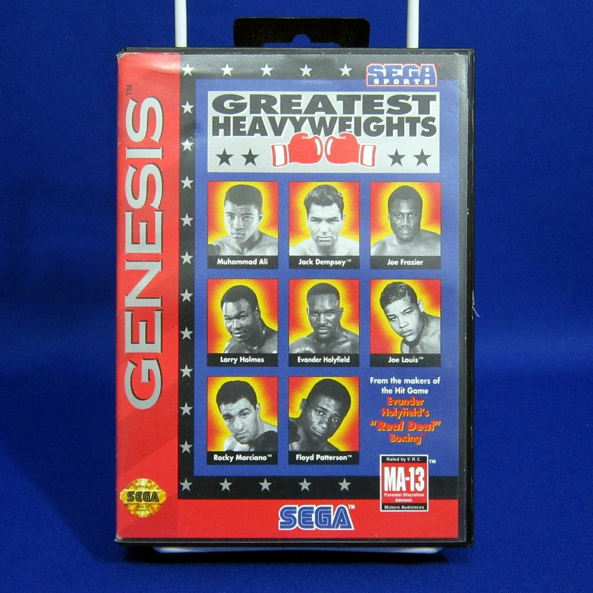Sega Genesis Greatest Heavyweights Boxing complete and tested! https://www.ebay.ca/itm/323932461211 … #ebay @ebay #Sega #SegaGenesis #Genesis #SegaSports #GreatestHeavyweights #Boxing #HeavyWeights #MA13 #MuhammadAli #JoeLouis #JoeFrazier #EvanderHolyfield #RockyMarciano #videogames #gamingpic.twitter.com/6ZgJ5gMdtZ
