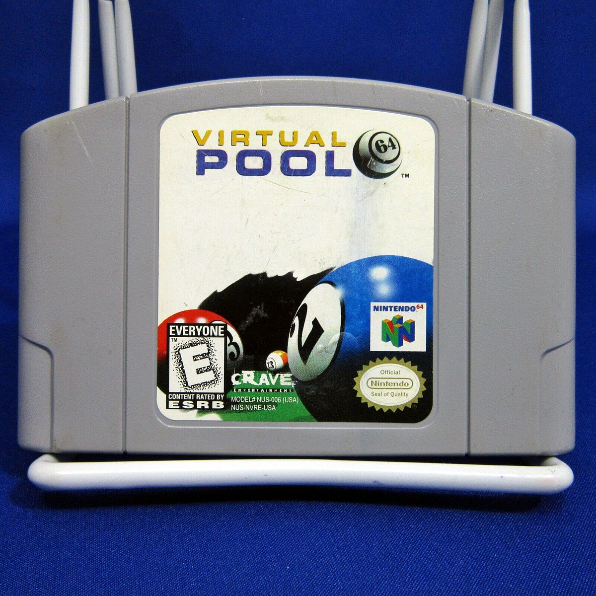 N64 Virtual Pool 64 Cartridge Only Tested https://www.ebay.ca/itm/223686330659 … #ebay @ebay #N64 #Nintendo64 #VirtualPool #VirtualPool64 #Billyards #pool #poolballs #cartridgeonly #tested #videogames #gamingpic.twitter.com/S7sHmPEmC0