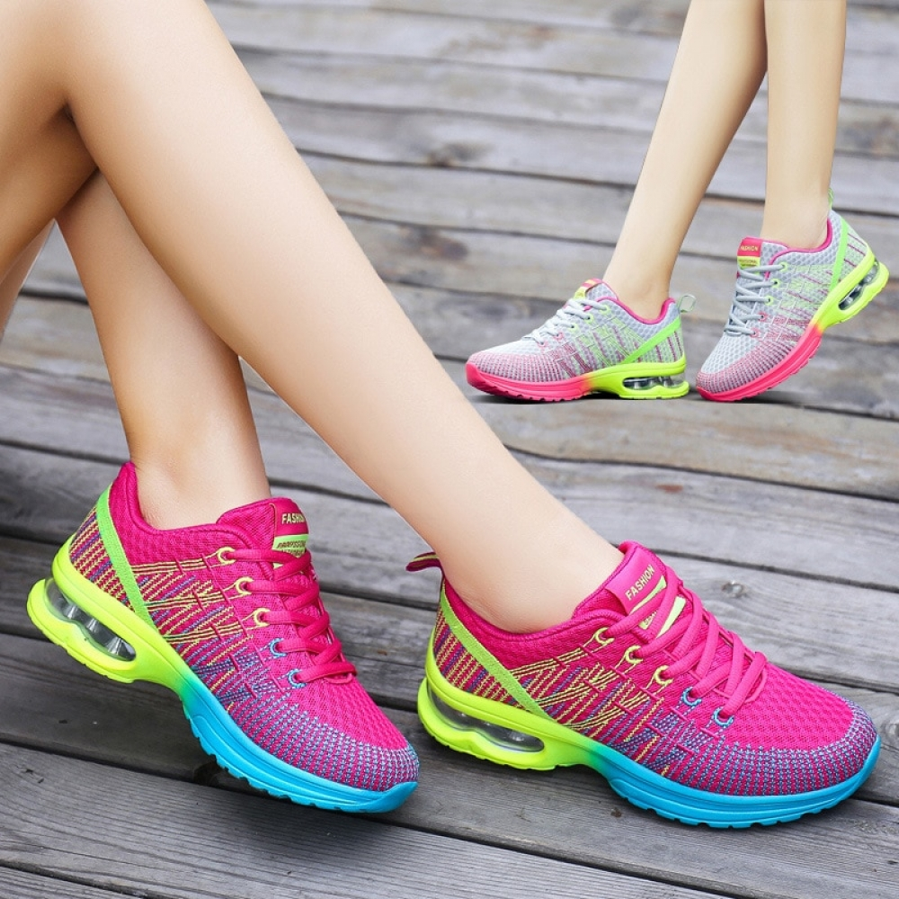 2018 Women Shoes Spring Autumn New Sports Ladies Shoes Walking Breathable Sapatilhas Walking Shoes Women Sneakers Platform Shoe  #fashion|#tech|#home|#lifestyle
