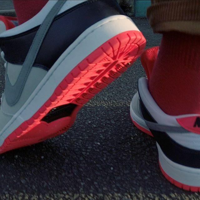On foot of the Nike SB Infrared Dunk now live on YouTube! - - - #PintOfStuff #Lifestyle #StyleBlog #Fashion #nike #ootd #wiw #wiwt #nikesb #nikesbdunk #dunklow #infrared #mystyle #sneakers #orangelabel #shoes #kicks #instakicks #sneakerhead #sneakerheads…